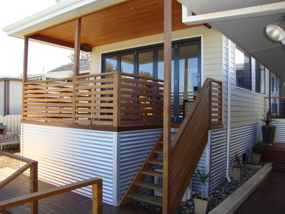 Stairs & Deck